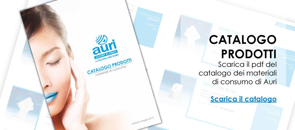 Catalogo Auricolari Auri in PDF